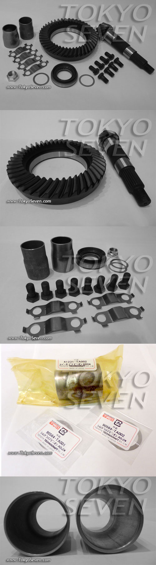 [Image: AEU86 AE86 - AE86 5.375 Final Gears - TRD]